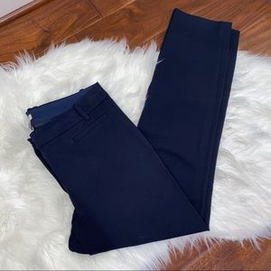 J. Crew Factory Navy Pants Size 6